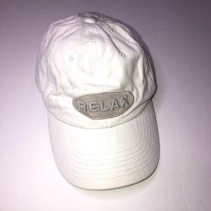 Tommy Bahama white logo baseball cap Relax